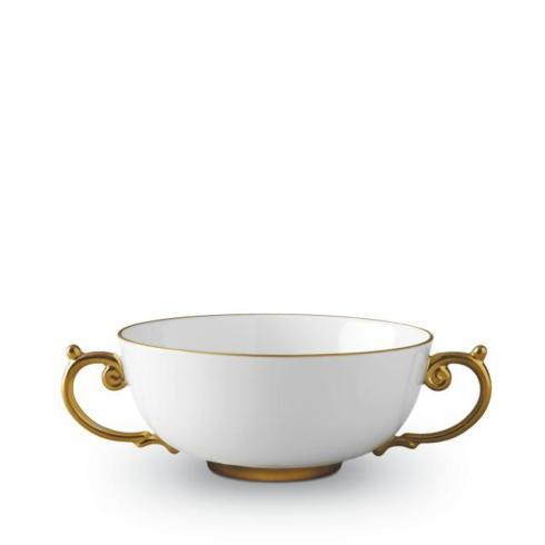 $200.00 Aegean Gold Soup Bowl