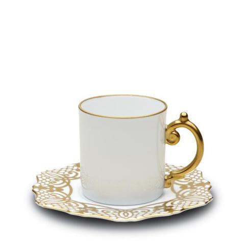$102.00 Alencon Gold Espresso Cup & Saucer