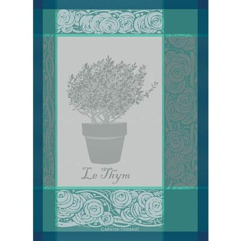 $24.50 Thym Turquoise Kitchen Towel