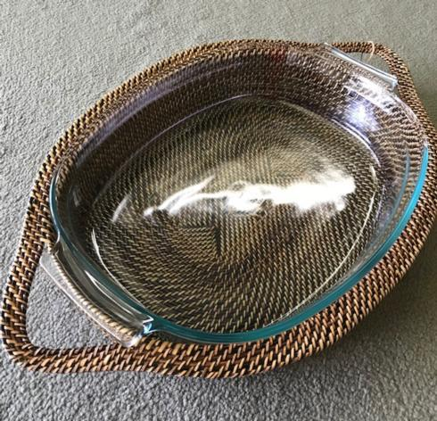 $118.00 Large Oval Tray/ pyrex