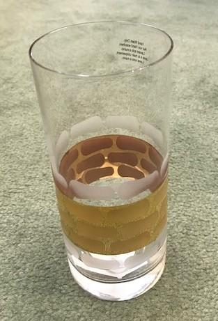 $40.00 Highball Glass
