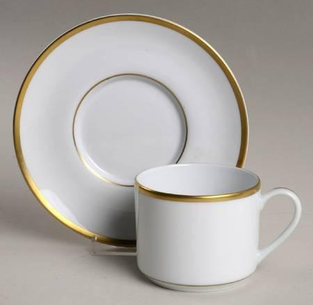 $88.00 Signature Gold - Cup and Saucer - Plain