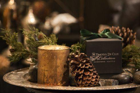 """$48.00 """"Forêt"""" Bespoke Scented Candle By Timothy De Clue"""