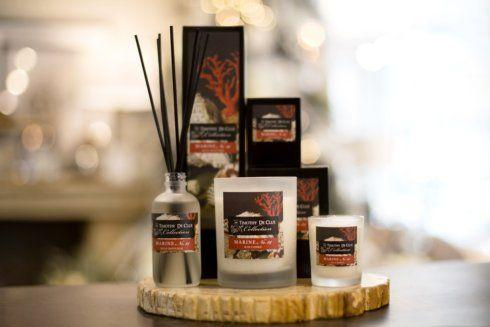 "$34.00 ""Marine"" Scented Candle By Timothy De Clue"