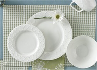 $6.00 Placemat - Houndstooth Blue/Green