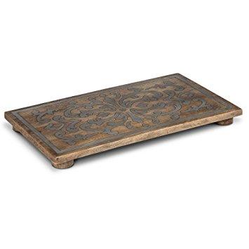$103.00 Trivet Rec Wood/Metal