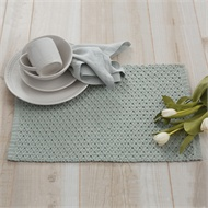 $8.50 Placemat - Addison - Blue Mist