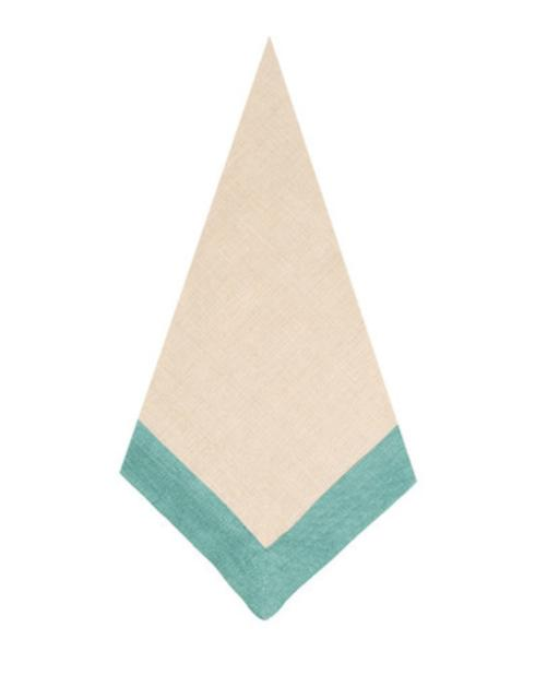 $28.00 Napkin Madison - Natural/Azur