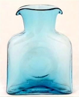 $40.00 Mini Water Bottle - Bermuda Blue