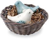 $19.50 Bird Nest Salt & Pepper
