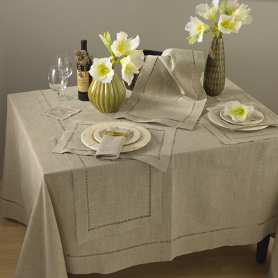 $7.50 Placemat - Hemstitched - Natural
