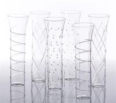$14.00 Champagne Glass - Razzle