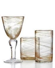 $10.50 Hiball Glass - Shimmer Gold