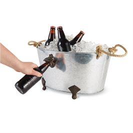 $51.00 Bottle Opener Beverage Tub
