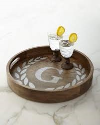 """$170.50 Tray with Initial 20"""""""