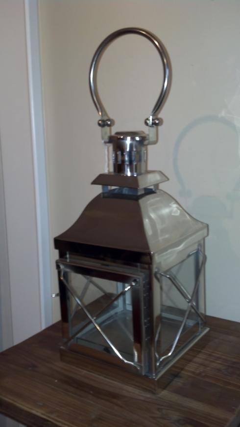 $45.00 Chrome lantern