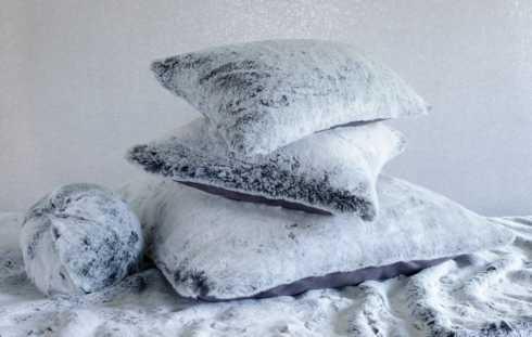 $105.00 Faux Fur Square Pillow