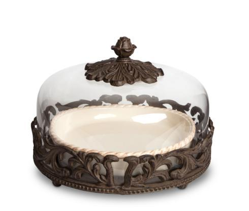 $285.00 Acanthus Pie Plate with Dome
