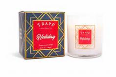 $33.00 TRAPP Holiday Large Candle