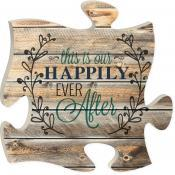 $15.95 Happy Ever After Puzzle Wall Art