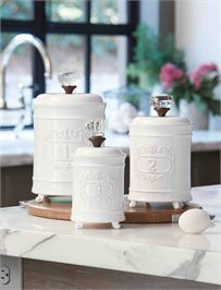 $106.00 Circa Canister Set of 3