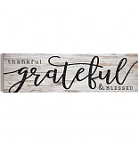 $32.00 Thankful & Blessed Sign