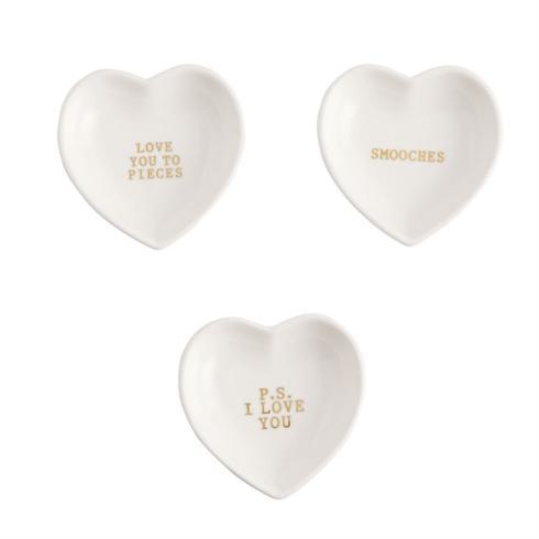 $14.95 Heart Ring Dish (individual)