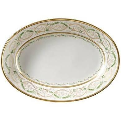 "$575.00 La Scala 13"" Oval Platter"