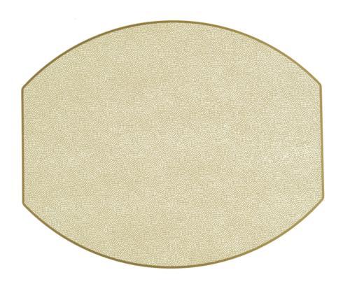 $38.00 Shimmer Eliptical Placemat