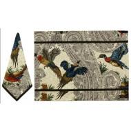 $225.00 The Hunt II - Game Birds Napkins S/12