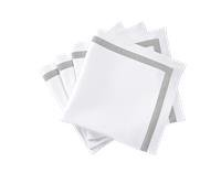 $135.00 Lowell Silver Napkins - Set of 4