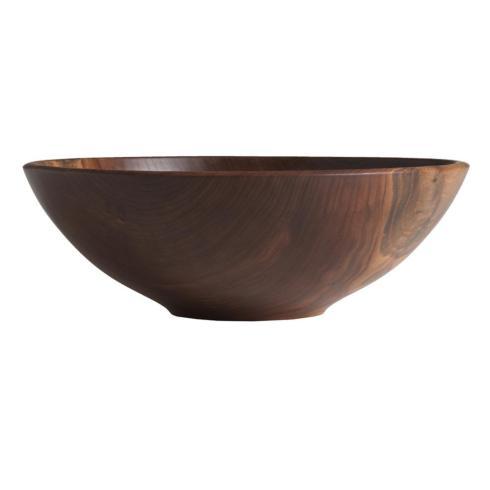 """$195.00 Champlain Bowl Black Walnut 13"""""""