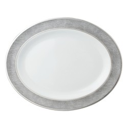 "$320.00 Sauvage Oval Platter 13"""