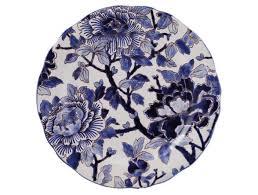 $230.00 Gien Pivoines Bleues Dessert Plate