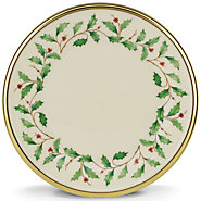 $17.00 Holiday Bread & Butter Plate