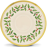 $15.00 Holiday Tea Saucer