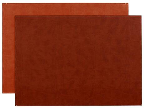$60.00 Gallery Mat Brick/Rust Set of 4