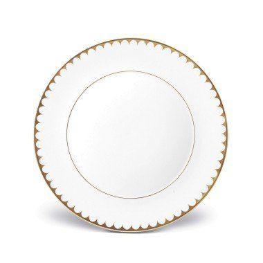 $132.00 Aegean Filet Gold Dinner Plate