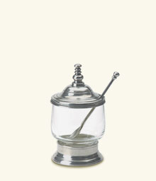$145.00 Condiment Jar w/Spoon
