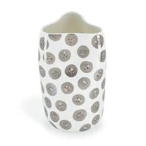 $230.00 Tempo Luna Pinched Vase Platinum