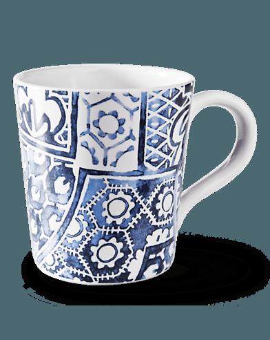 $18.00 Cote d\'Azur Batik Mug