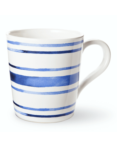 $18.00 Cote d\'Azur Stripe Mug
