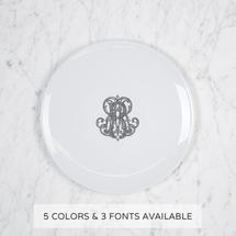 $56.00 Imagine Salad Plate with Monogram