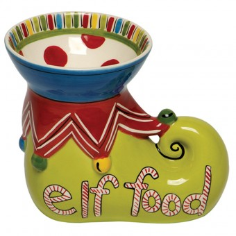 $21.79 Elf Show Candy Dish