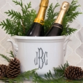 $195.00 Champagne Bucket With Monogram