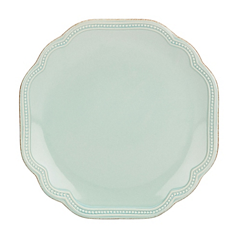 $19.00 French Perle Ice Blue Salad Plate