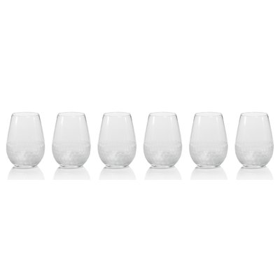 $15.00 Fez Frosted Stemless Wine Glass
