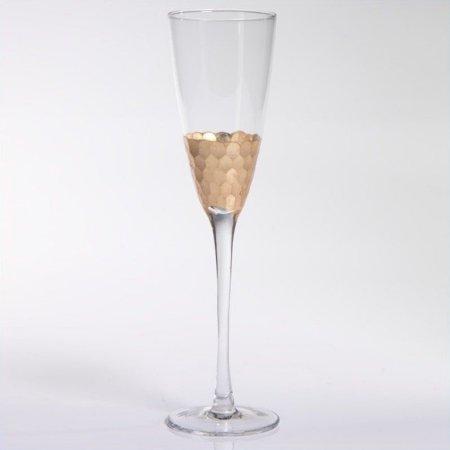 $21.00 Gold Leaf Champagne Flute