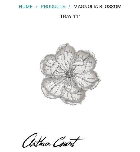 $55.00 Magnolia Blossom Tray