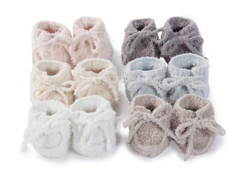 $18.00 Infant Booties Pink